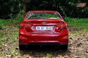 Hyundai Verna 2017 rear
