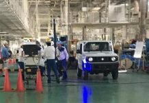 Maruti Gypsy 2018 spy