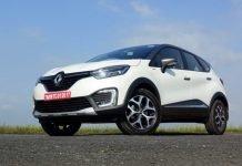 Renault Captur AMT ground clearance