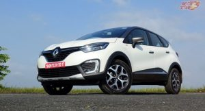 Renault Captur AMT ground clearance