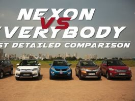 Tata Nexon vs Competition