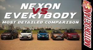 Tata Nexon vs Competition
