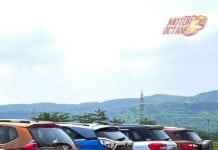 Tata Nexon vs Ford Ecosport vs Maruti Vitara Brezza vs Honda WRV vs Hyundai Creta rear