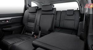 2018 Honda CRV rear seat