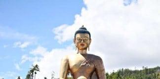 Bhutan Golden Buddha