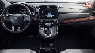 New Honda CRV 2018 interior