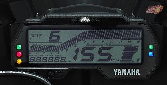 Yamaha R15 V3 digitall speedometer