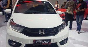 2019 Honda Brio White Front