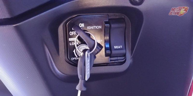 Honda Grazia seat switch