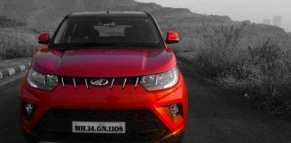 Mahindra KUV100 NXT front