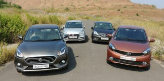 Maruti Dzire vs Tata Tigor vs Hyundai Xcent vs Honda Amaze