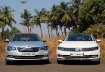 Volkswagen Passat vs Skoda Superb 1