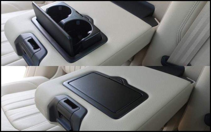 2018 Audi Q5 armrest