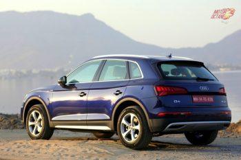 2018 Audi Q5 rear