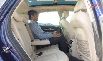 2018 Audi Q5 rear seat space