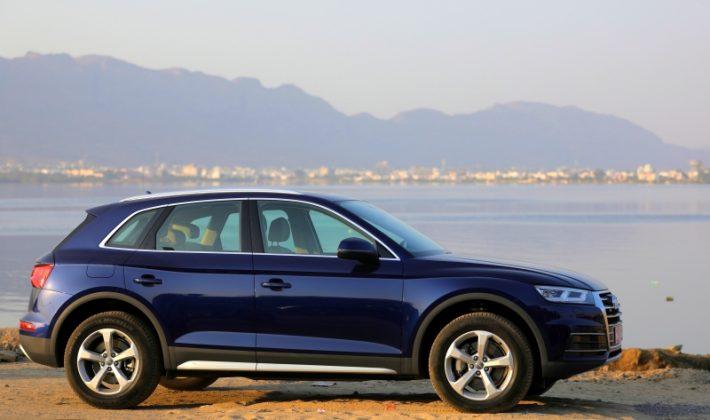 2018 Audi Q5 side profile