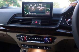 2018 Audi Q5 touchscreen