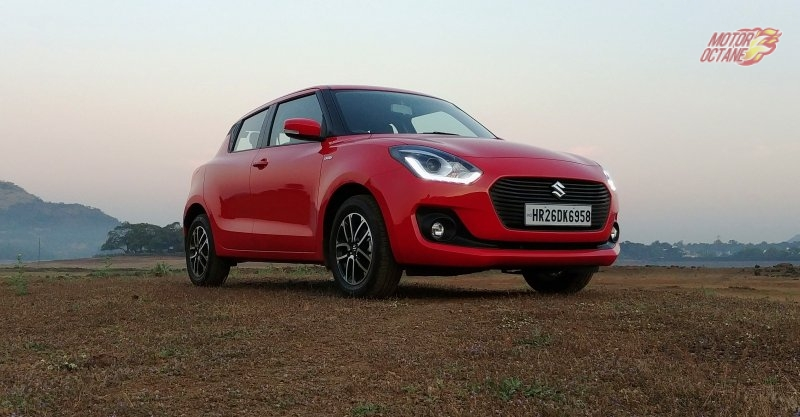 2018 Maruti Swift front three quarter