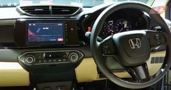 new Honda WRV interior