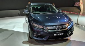Honda Civic 2019 India front