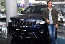 Farhan-Akthar Jeep Compass Grand Cherokee