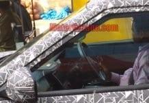 Mahindra XUV 300 S201 interior Spy pic