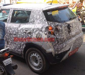Mahindra XUV300 S201 spy pics 3