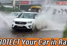 Protect car in rain