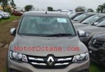 Renault Kwid 2019 Front