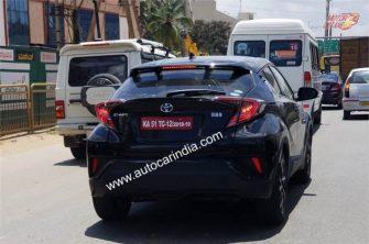 Toyota CHR spy 2