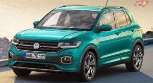 Volkswagen tcross front