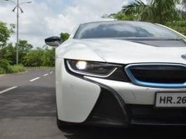 BMW i8 headlamp