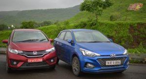 Honda Jazz 2018 vs Hyundai Elite i20 2018
