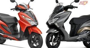 Suzuki Burgman Street vs Honda Grazia