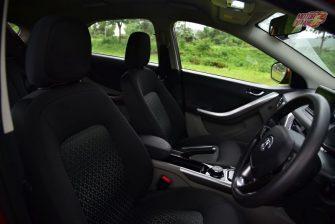 Tata Nexon Front Seats