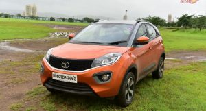 Tata Nexon Front Three Quaters