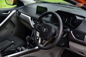Tata Nexon Steering