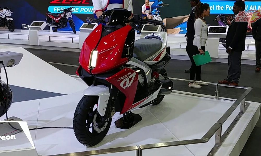 0a67202f666 The TVS hybrid scooter was first shown during the 2010 Auto Expo. It has  been a while since the world saw it and now, TVS will be launching the  hybrid ...