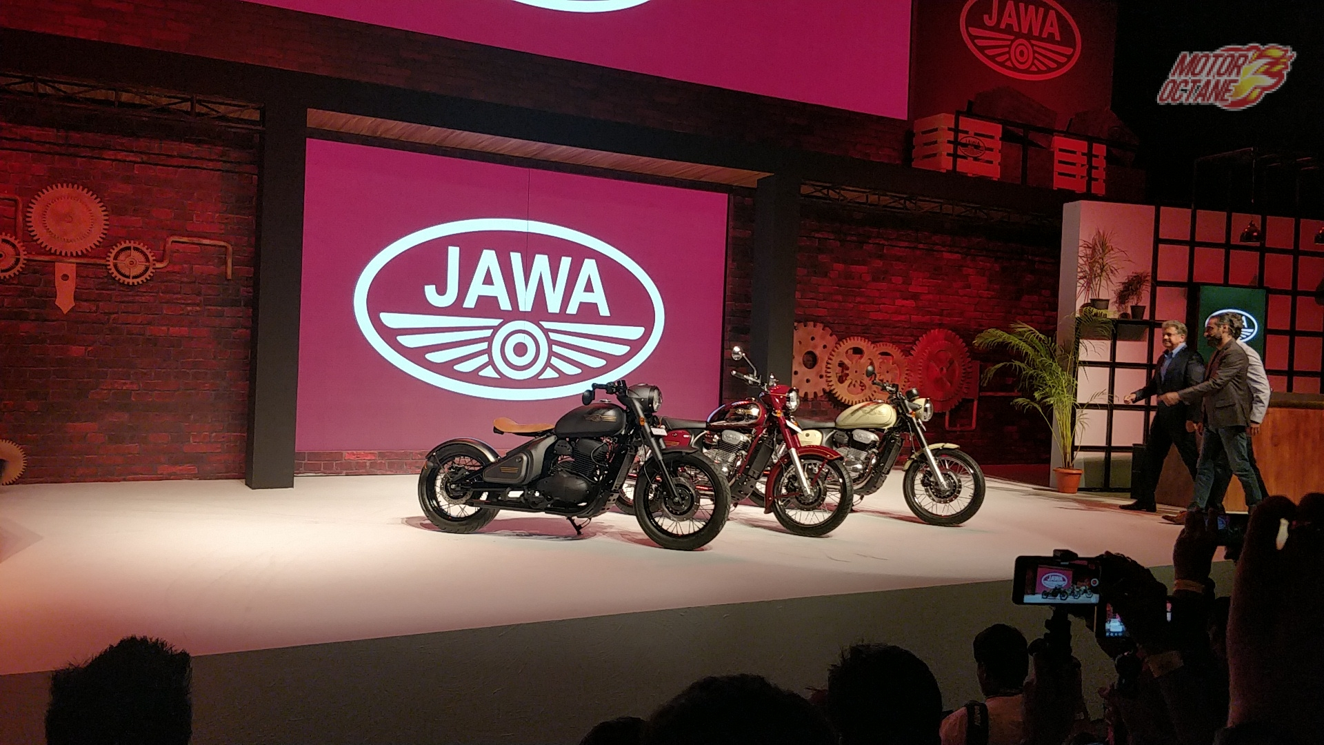 Jawa Motorcycles Launched