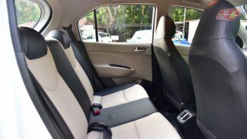 Hyundai Santro 2018 rear seat