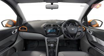 Tata Tiago XZ+ Interior Dashboard