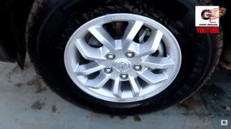 2019 Mahindra TV300 alloy wheels
