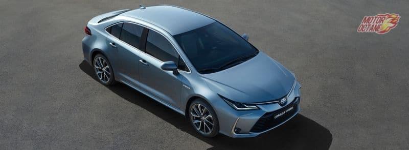 2019 Toyota Corolla Altis side