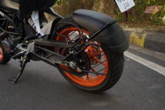 KTM Duke 125 rear brakes