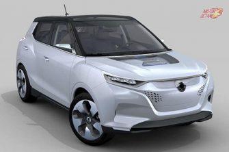 Mahindra XUV300 Electric front