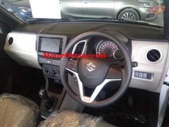 Maruti Wagon R 2019 Dashboard