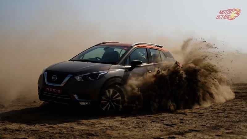 Nissan Kicks dirt