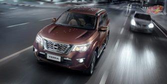Nissan Terra headlight