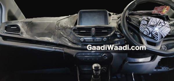 tata-45x-full dashborad interior