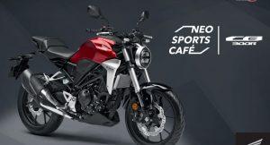 Honda CB300R Neo Sports front